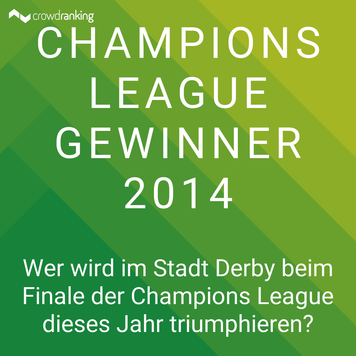 champion league gewinner